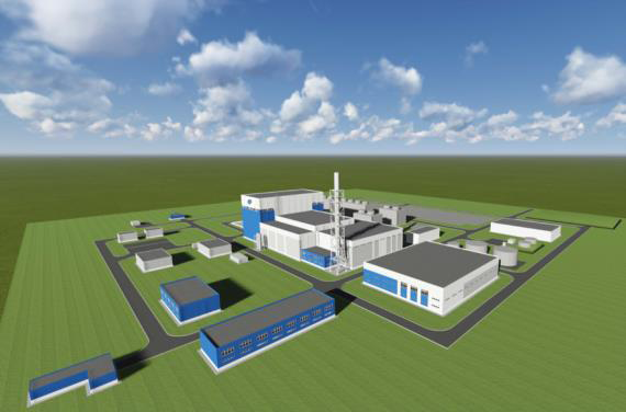 General view of the SNPP with RITM-200 reactor  © OKBM Afrikantov