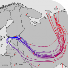 Anomalous measurements of radionuclides over North-East Europe in June 2020 newspicture