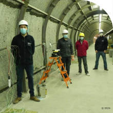 Bel V participated in the installation of a new experiment in the IRSN Underground Research Laboratory at Tournemire newspicture